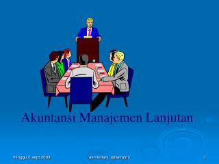 Akuntansi Manajemen Lanjutan