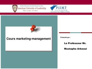 Cours marketing-management