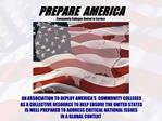 PREPARE AMERICA  VISION