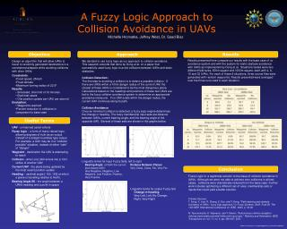 A Fuzzy Logic Approach to  Collision Avoidance in UAVs