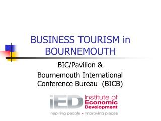 BUSINESS TOURISM in BOURNEMOUTH