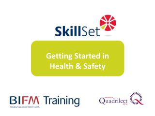 Getting Started in Health & Safety