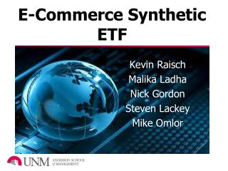 E-Commerce Synthetic ETF