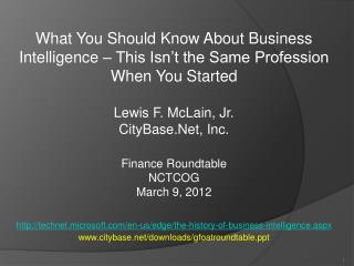 What You Should Know About Business Intelligence – This Isn't the Same Profession When You Started