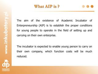 What AIP is ?