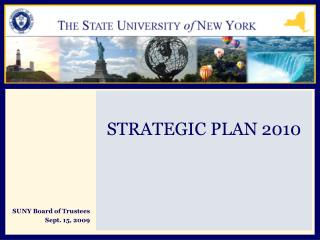 SUNY Board of Trustees Sept. 15, 2009
