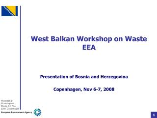 West Balkan Workshop on Waste EEA