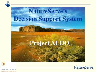NatureServe's Decision Support System
