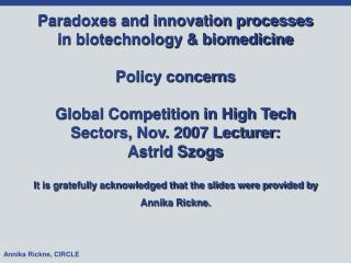 Definition of biotech