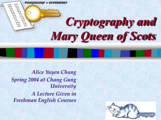 Cryptography and  Mary Queen of Scots