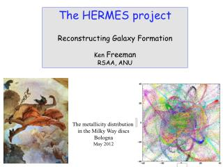 The HERMES project Reconstructing Galaxy Formation Ken  Freeman RSAA, ANU