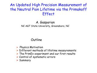 An Updated High Precision Measurement of the Neutral Pion Lifetime via the Primakoff Effect