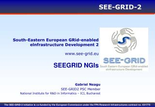 South-Eastern European GRid-enabled elnfrastructure Development 2