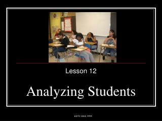 Analyzing Students