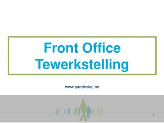 Front Office Tewerkstelling