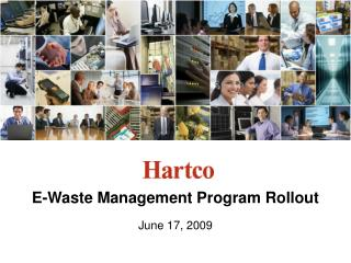 E-Waste Management Program Rollout