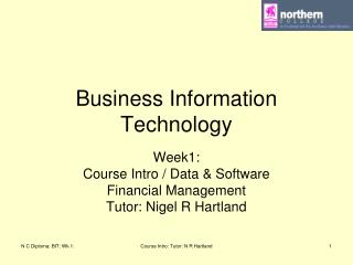 Business Information Technology