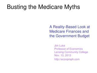 Busting the Medicare Myths