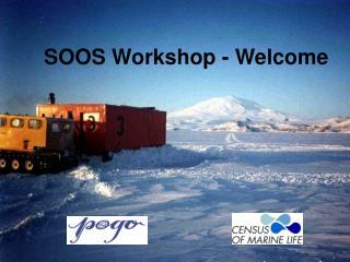 SOOS Workshop - Welcome