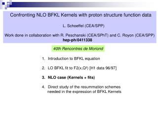 Confronting NLO BFKL Kernels with proton structure function data