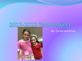 2011-2012 Tech Project
