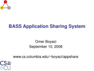 BASS Application Sharing System