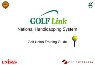National Handicapping System Golf Union Training Guide