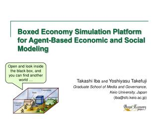 Boxed Economy Simulation Platform for Agent-Based Economic and Social Modeling