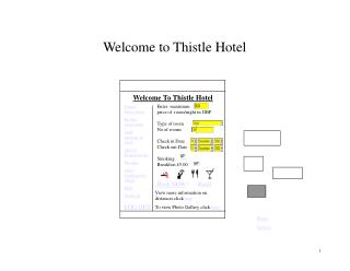 Welcome to Thistle Hotel
