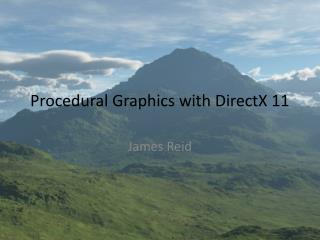 Procedural Graphics with DirectX 11