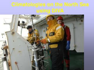 Climatologies on the North Sea using DIVA