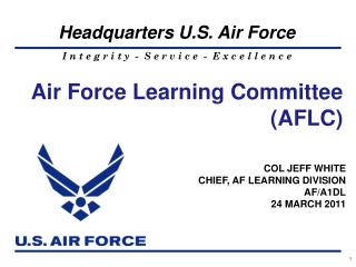 Air Force Learning Committee (AFLC)
