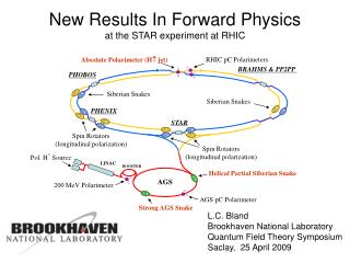 New Results In Forward Physics at the STAR experiment at RHIC