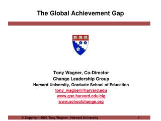 The Global Achievement Gap