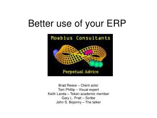 Better use of your ERP