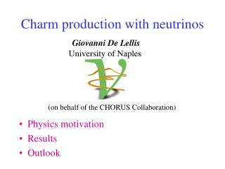 Charm production with neutrinos