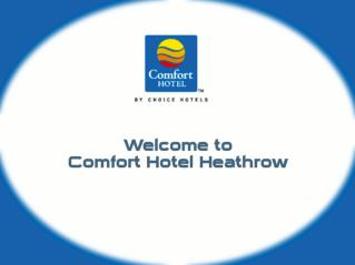 Comfort Hotel Heathrow - Accommodation near Heathrow Airport