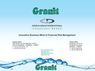 Innovative Business Mind of Financial Risk Management