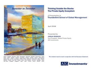 Thinking Outside the Stocks: The Private Equity Ecosystem