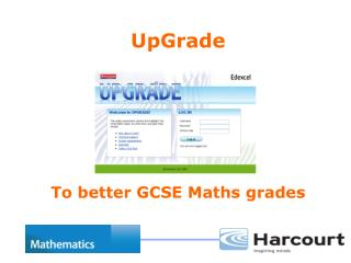 UpGrade To better GCSE Maths grades