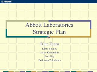 Abbott Laboratories Strategic Plan