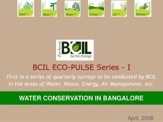 BCIL ECO-PULSE Series - I