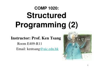 COMP 1020: Structured Programming (2)