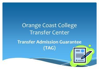 Orange Coast College Transfer Center