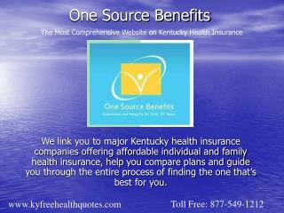 One Source Benefits Kentucky