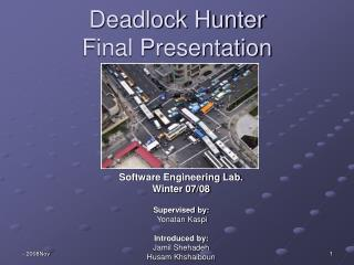 Deadlock Hunter Final Presentation
