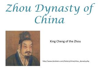 Zhou Dynasty of China