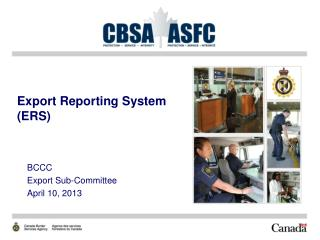 Export Reporting System (ERS)