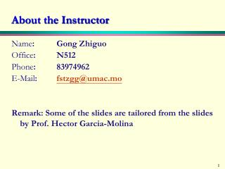 About the Instructor