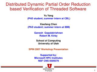 Distributed Dynamic Partial Order Reduction based Verification of Threaded Software